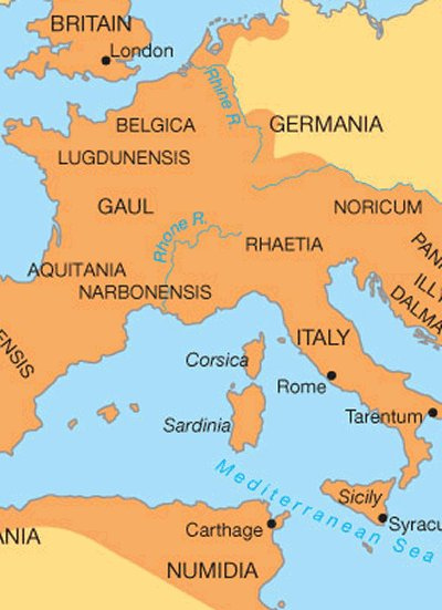 Gaul World Map.List Of Women Deacons In Gaul Italy And Dalmatia Women Deacons